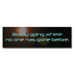Star Trek Bumper Sticker